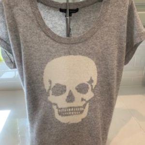 Sweaters - Cashmere Skull Sweater